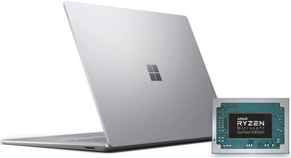 Microsoft может использовать процессоры Ryzen 4000U в своем Surface Laptop 4